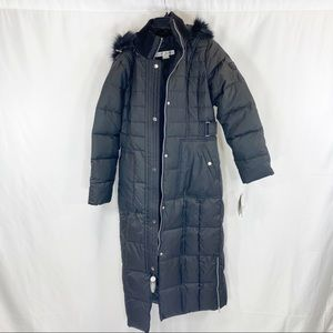 Larry Levine long puffer jacket
